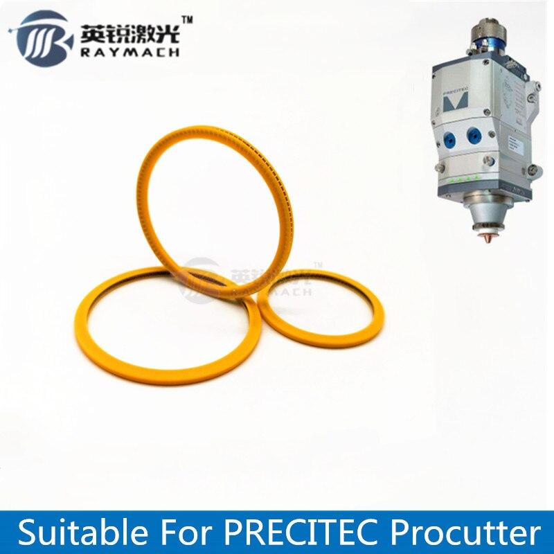Seal Ring Fiber Laser Parts Dia.40.35mm/D54.5mm Used For PRECITEC PROCUTTER Fiber Head 37*7mm Protective Windows