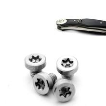EDC Knife Handle Screw Folding Shank T8 Plum Oppose Lock Rivet Tools Fastening Screws 4PCS