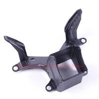Black Upper Fairing Front Stay Bracket For Yamaha YZF R6 2008 2009 2010 2011 2012 2013 2014 Headlight Cowling Bracket