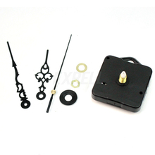 High Quality New Quartz Black Wall Clock Movement Mechanism Repair Parts Kit WN0410