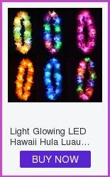 23 PCS LIGHT UP JELLY RINGS WHITE LED FLASHING PARTY FAVORS WEDDING BLINKING EDC