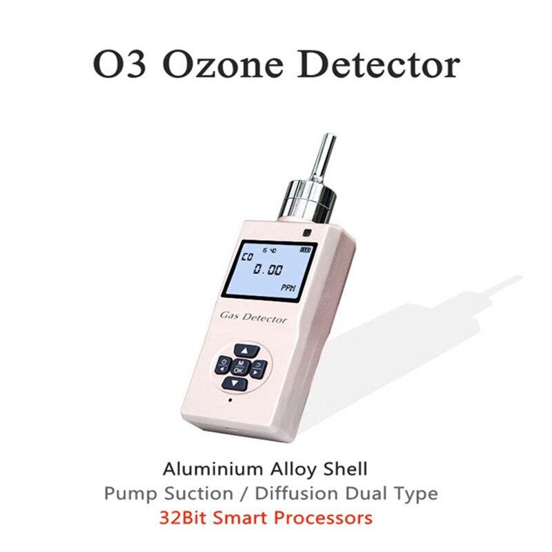 Портативный O3 озоновый фотоионный детектор газа насос всасывающий детектор газа металлический корпус детектор газа низкой мощности датчи