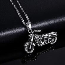 ¡Novedad! collar Vintage gótico con colgante para motocicleta Ghost Rider de 1 pieza para hombre, accesorios de joyería para hombre