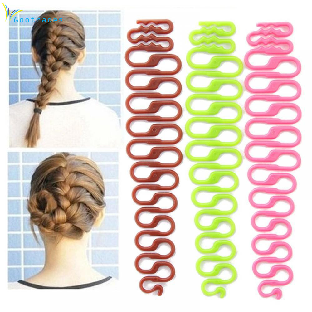Gootrades 1 Piece Fashion New Magic Easy Braid Women Wave Hair Disk Device Tress Hair Braider