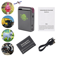 цена Real-time GPS mould GSM GPRS Car GPS Tracker TK102 Quad Band with One Battery Vehicle Car Tracking Device System