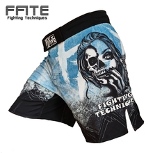FFITE Boxing Fight Shorts MMA For Men Sotf Muay Thai Sport Trunks Grappling Sanda Kickboxing Pants Boxe