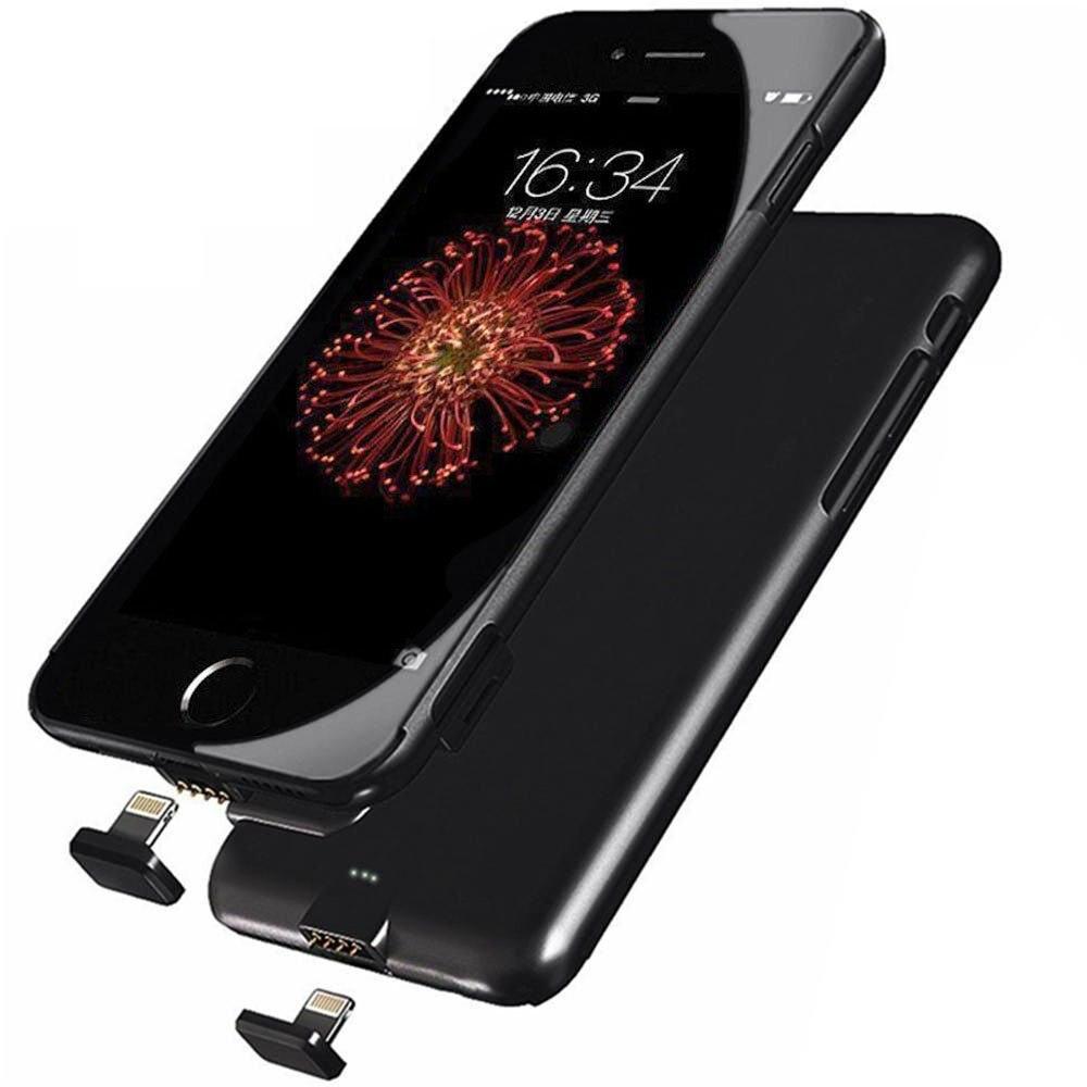 bilder für Meliid Ultra Thin Batterie Fall Für iPhone 7 7 Plus 6 6 S Externe Power Pack Wiederaufladbare Fall Erweiterte HEIßER verkauf