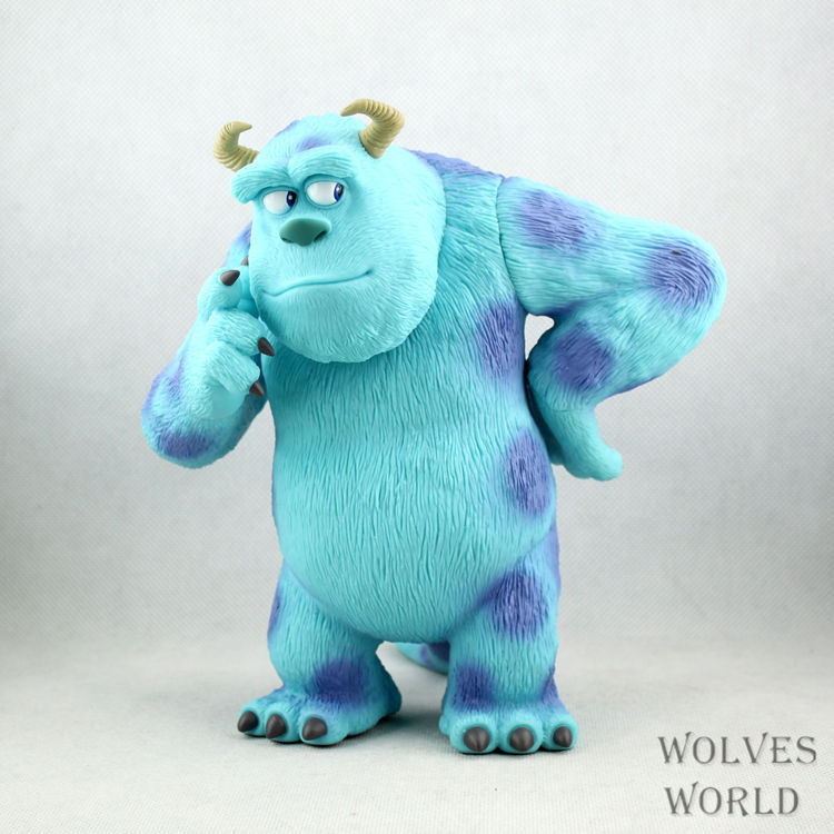 Anime Monsters Inc. James P Sullivan Sulley PVC Action Figure Collectible Model Toy 20cm anime yu gi oh duel monster yugi muto pvc action figure collectible model toy 8 20cm otfg182
