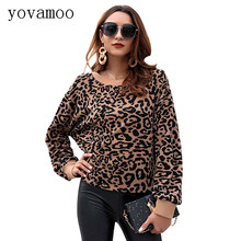Yovamoo Leopard Sweaters Fashion 2018 Women Autumn Winter Long Sleeve O-neck High Street Jumpers Knitted Casual Tops Pullover