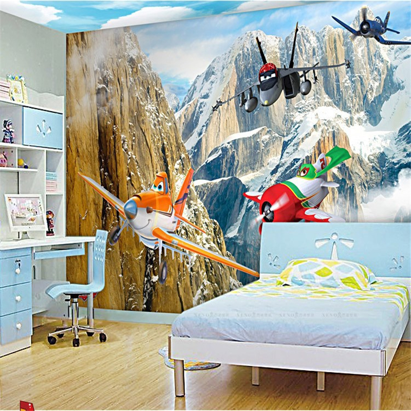 Printed paper airplanes promotion shop for promotional for Aviation wall mural
