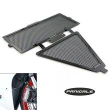 Части рамы для мотоцикла алюминиевые крышки радиатора и масляный радиатор для DUCATI Panigale 1299 1199 959 899 крышка радиатора