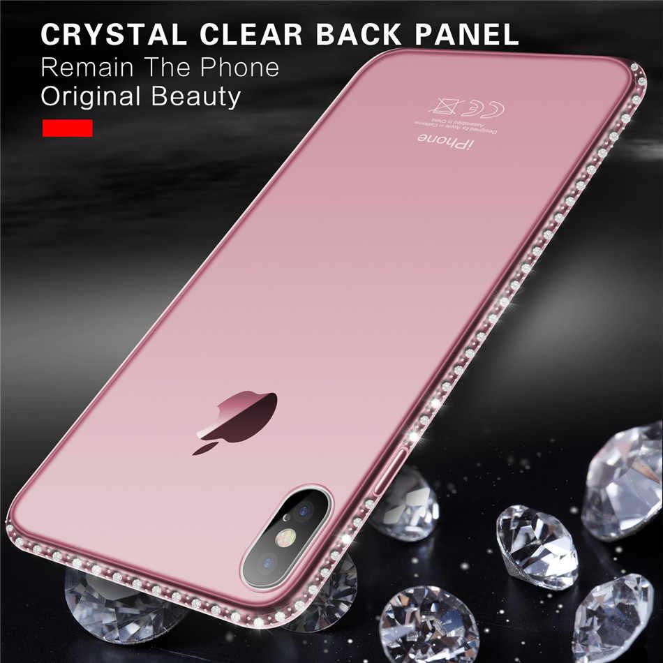 Uslion ソフトケース iphone 11 プロ xr 8 7 6s プラス 5s 、 se x xs 最大透明 iphone xs 最大電話ケース電話カバー capa