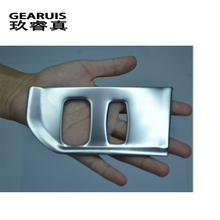 цена на Car-styling Interior car keyhole decorative frame cover trim Accessories stainless steel 3D sticker For Volvo XC60 S60 V60