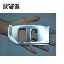 Автомобиль-Стайлинг интерьер автомобиля замочную скважину декоративные рамка Обложка отделка Интимные аксессуары нержавеющая сталь 3D наклейка для Volvo XC60 S60 V60