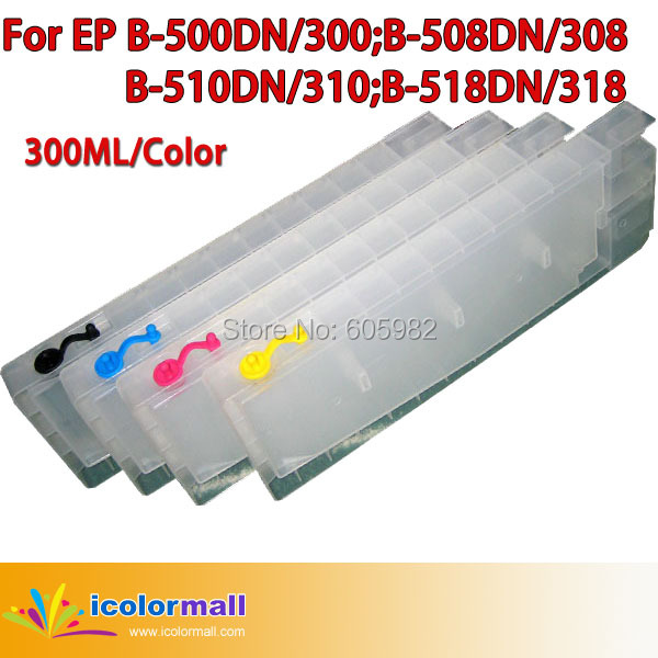 100 High Quality Refillable Cartridge For Epson B 310DN 510DN T6251 T6261