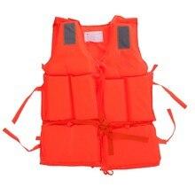 Giubbotto salvagente per adulto con fischietto di sopravvivenza, giubbotto di salvataggio in schiuma per sport acquatici, per lo sci nautico alla deriva