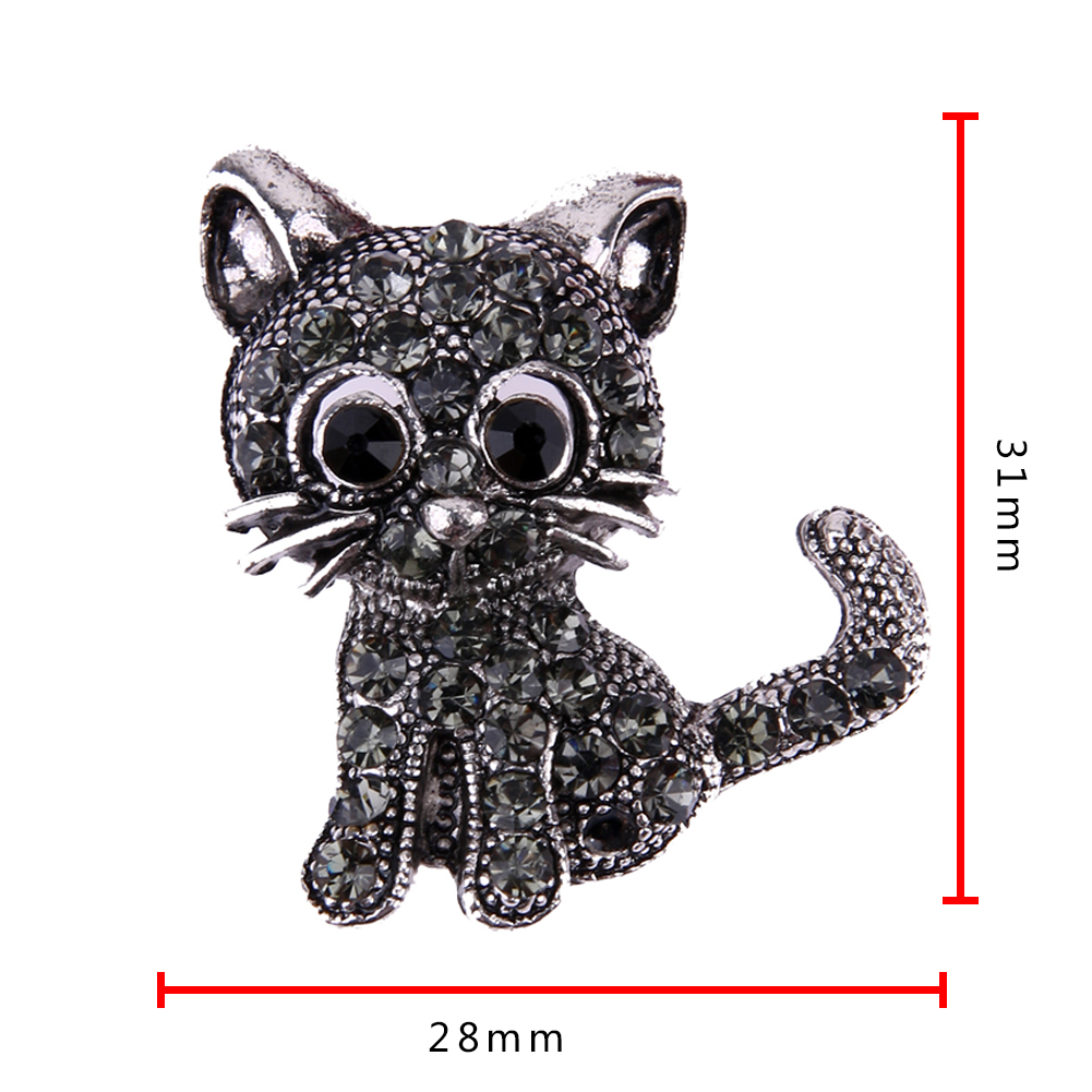 NEW VINTAGE BLACK CRYSTAL CUTE CAT BROOCH PINS-Cat Jewelry-Free Shipping NEW VINTAGE BLACK CRYSTAL CUTE CAT BROOCH PINS-Cat Jewelry-Free Shipping HTB1GQfGRXXXXXXyapXXq6xXFXXXO