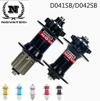 Novatec Hub D041SB/D042SB MTB Bicycle Hub Front/Rear Quick release set Bike Hub disc bearing Holes 28 32 36 for 8 9 10 11 speeds