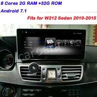 Mercedes Android 2G RAM NTG 5 Дисплей для Бен z E класса W212 2010 11 12 13 14 15 авто Dashboard multimdia высокого класса навигации