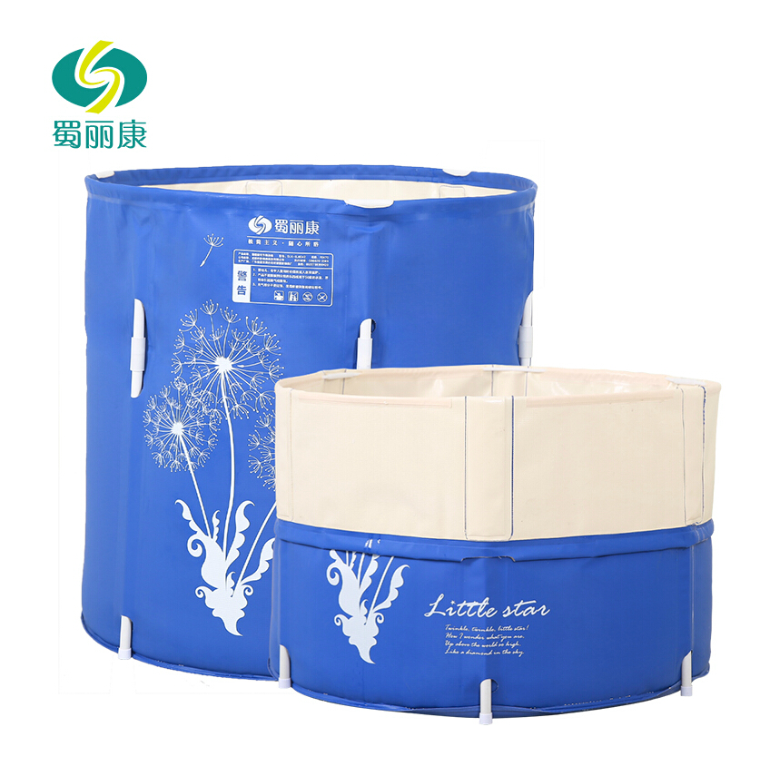 Adult Children Lift Inflatable Bathtub Foldable Tub Bath Bucket Thickened Kids Adult Insulation Separate tub With No Cover