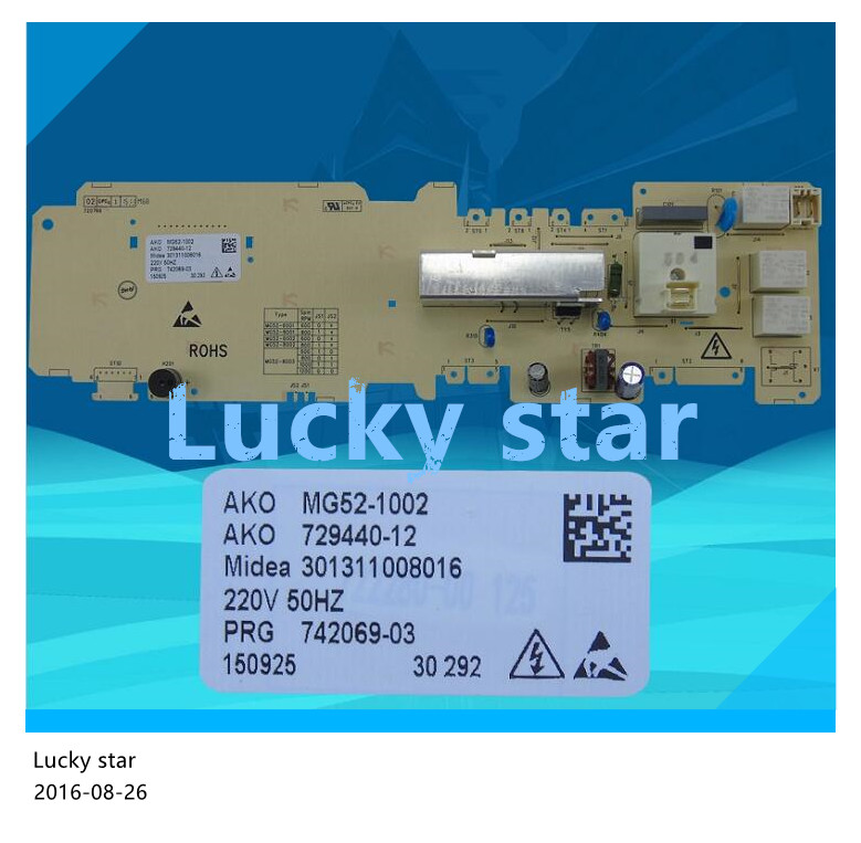 100% new good working High-quality for Computer washing machine board MG52-1002 board good working high quality for lg washing machine computer board wd n10310d ebr61282428 ebr61282527 board