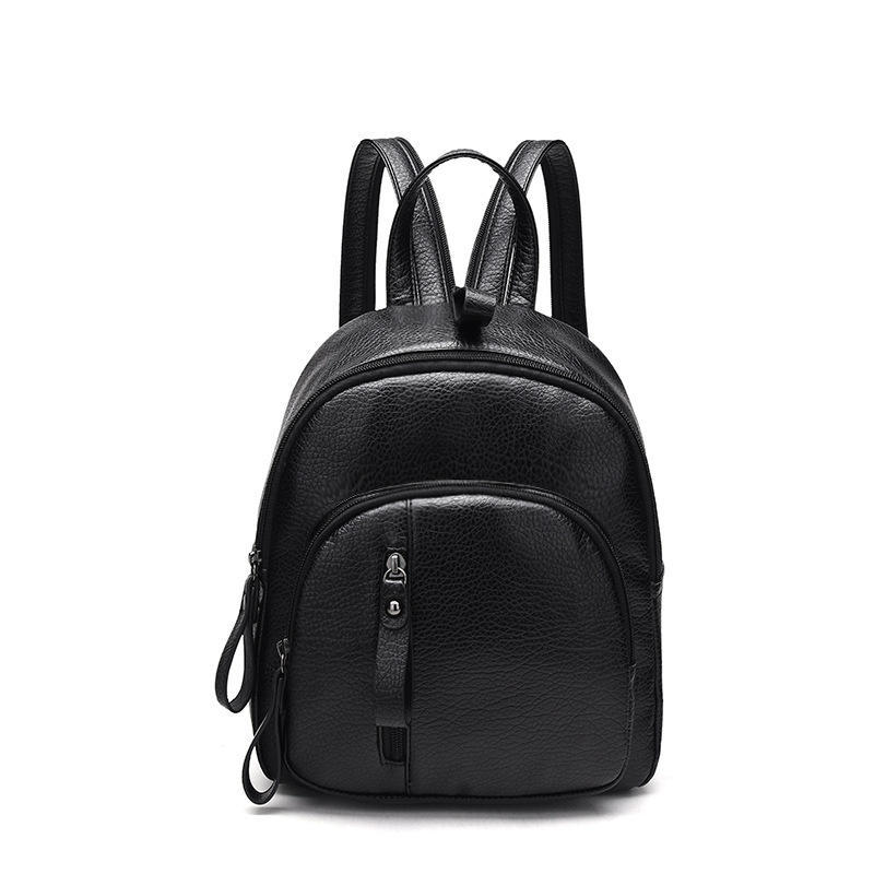Genuine Leather Women's Backpacks Large Capacity Shoulder Travel Bags Mochila Feminina backpack for teenage girls vintage C287 2016new rucksack luxury backpack youth school bags for girls genuine leather black shoulder backpacks women bag mochila feminina