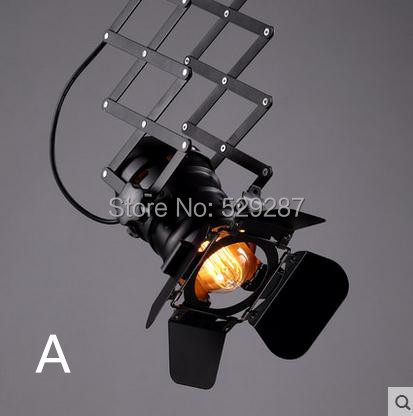 lampe de plafond industriel pour salon chambres bar piste absorber dome luminaire cl138 livraison gratuite