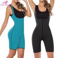 Lover Beauty Reversible Sauna Workouts Fajas Shapewear Full Body Sweat Hot Slimming Suit Tank Top Vest