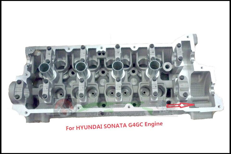 G4GC Cylinder Head For Hyundai Elantra Sonata For Kia Spectra Cerato Sportage Carens 2 2.0L 22100 23740 22100 23760 22100 23780