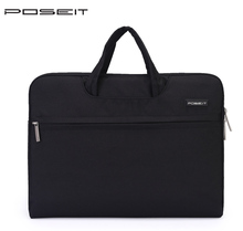 POSEIT Brand  Universal Laptop Bag Notebook Case Briefcase Handle bag Pouch For  HP  Dell  Acer  Macbook AIR 11 13 14 15.6 inch все цены