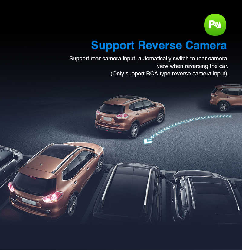 ฟักทอง 2 Din 10.1 ''Android 9.0 Universal รถวิทยุ DVD GPS นำทาง Octa-core 2G + 32G รถสเตอริโอ Wifi OBD2 DAB