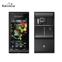 Original Sony Ericsson Satio (Idou) U1i Smartphones 12.1MP Camera Detachable 1000mAh Battery Black Color 256MB RAM u1