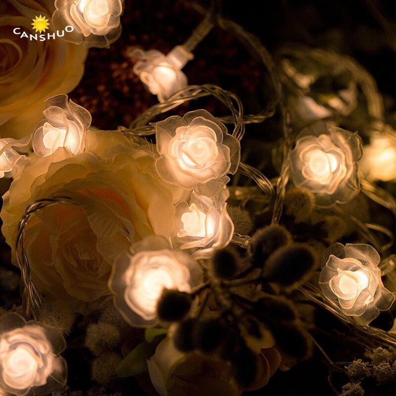 1 Mt/2 Mt/3 Mt/4 Mt/5 Mt/10 Mt Led Rose Blume Aa Batterie Weihnachten String Lichter Für Valentine Hochzeit Garland Dekoration Fee Lampen Mit Traditionellen Methoden