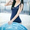 Uniforme escolar japonés traje de lolita chica estudiante mujeres sexy falda azul oscuro Lindo anime cosplay Do ku agua de Una sola pieza traje de baño