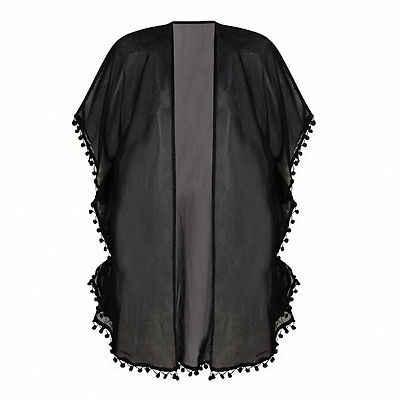 Женская пляжная одежда бикини накидка для пляжа кардиган-накидка винтажная Женская шаль кардиган бохо шифоновое пальто куртка блузка