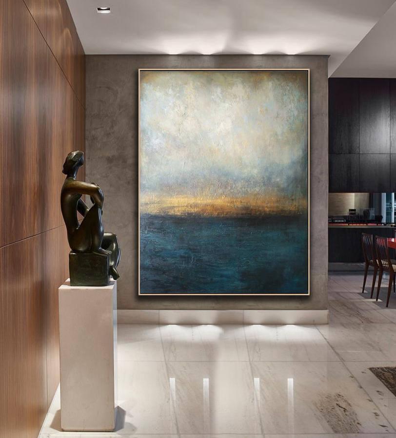 Handmade Original Painting Canvas Art, Large Decor, Abstract Art Oil Painting On Canvas, Large Size Art