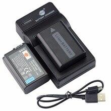 DSTE 2 pcs NP-FW50 Bateria + UDC107 USB Carregador para Sony NEX-F3 NEX-5R NEX-6 NEX-7 NEX-5N NEX-3 NEX-3A NEX-3D