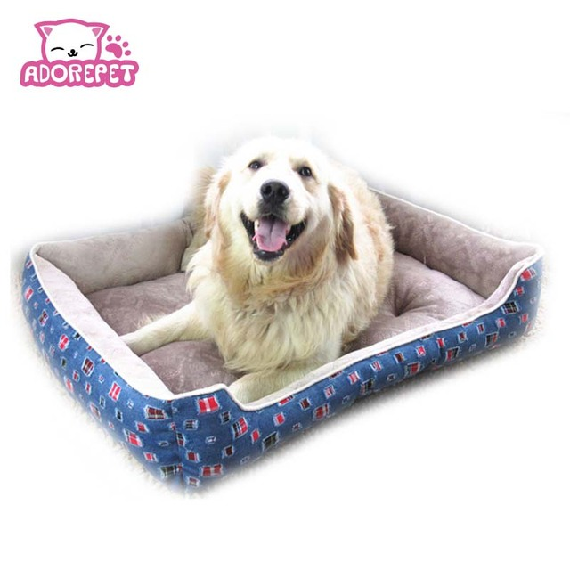 big dog sofa bed dylan ethan allen denim small large house kennel warm soft pet cat nest mat cushion golden retriever pitbull