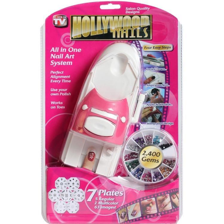 Nail Art Machine Printer: Nail Art DIY Pattern Printer Printing Stamp Manicure