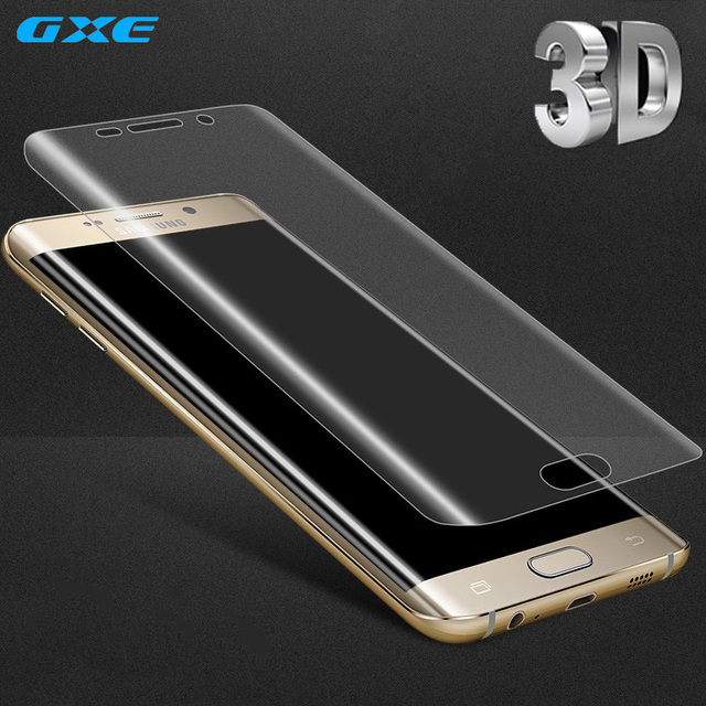 US $1 98 |3D Curved Screen Protector For Samsung Galaxy Note 8 S8 Plus  S7Edge S6Edge S8+ Toughed Pet Film Full Coverage Not Tempered Glass-in  Phone