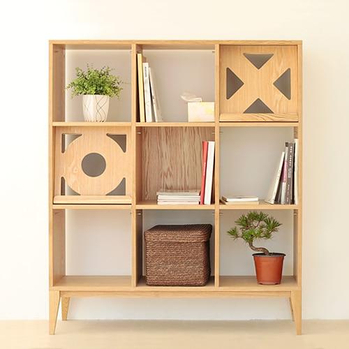 Squeak Guitar Sound Small Apartment House Living Room Bookshelf Partition Cabinet Design Studio Furniture
