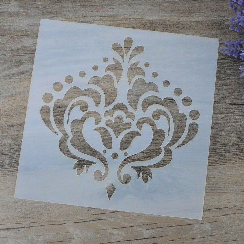 Diy Craft Cown Layering Stencils For Walls Painting Scrapbooking