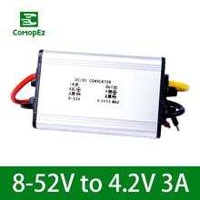цена на Voltage Converter 8-52V to 4.2V 3A DC DC Converter Current Regulator IP68 Step Down Buck Module for Cars Solar Plane Led Light