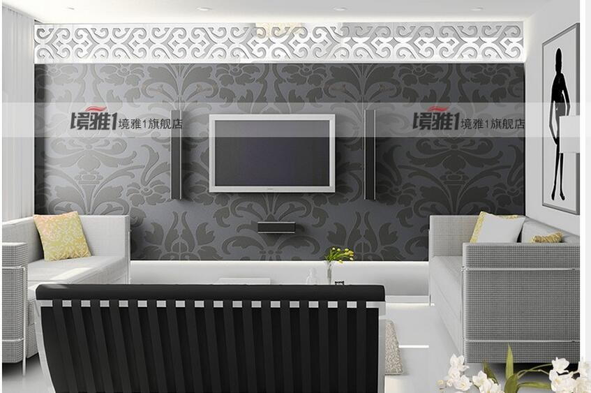 TV Backdrop Stickers Suspended 5