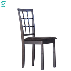 S3WengeFBbrown Barneo S-3 Wood dinner Chair Kitchen dinner Interior Stool Chair Kitchen Furniture Wenge free shipping in Russia