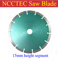 [15mm height segment] 6.6'' PREMIUM diamond saw blade FREE shipping | 165mm general purpose cutting discs wheel | Manganese base