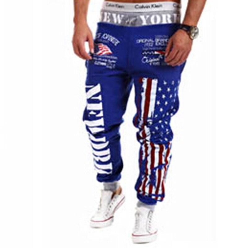 Jogger Pants Outdoors Joggers Men 2018 New Fashion Letter Print Harem Pants Sweat Pants Men Trousers wear Asian Size 3XL