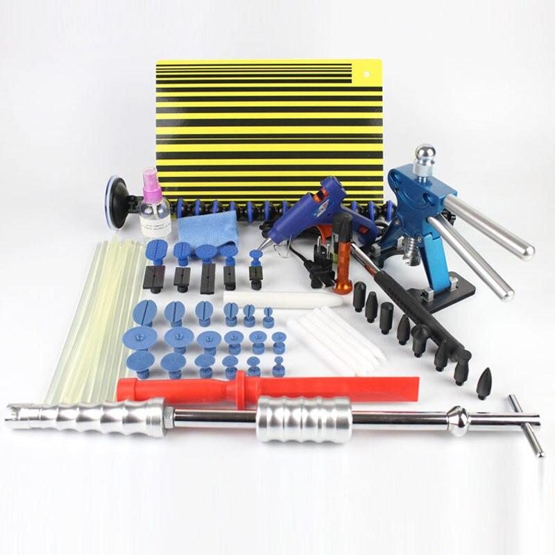 PDR Инструменты Paintless Дент Ремонт ползунок Молотки Отражатели доска Инструменты для автомобиля Дент град