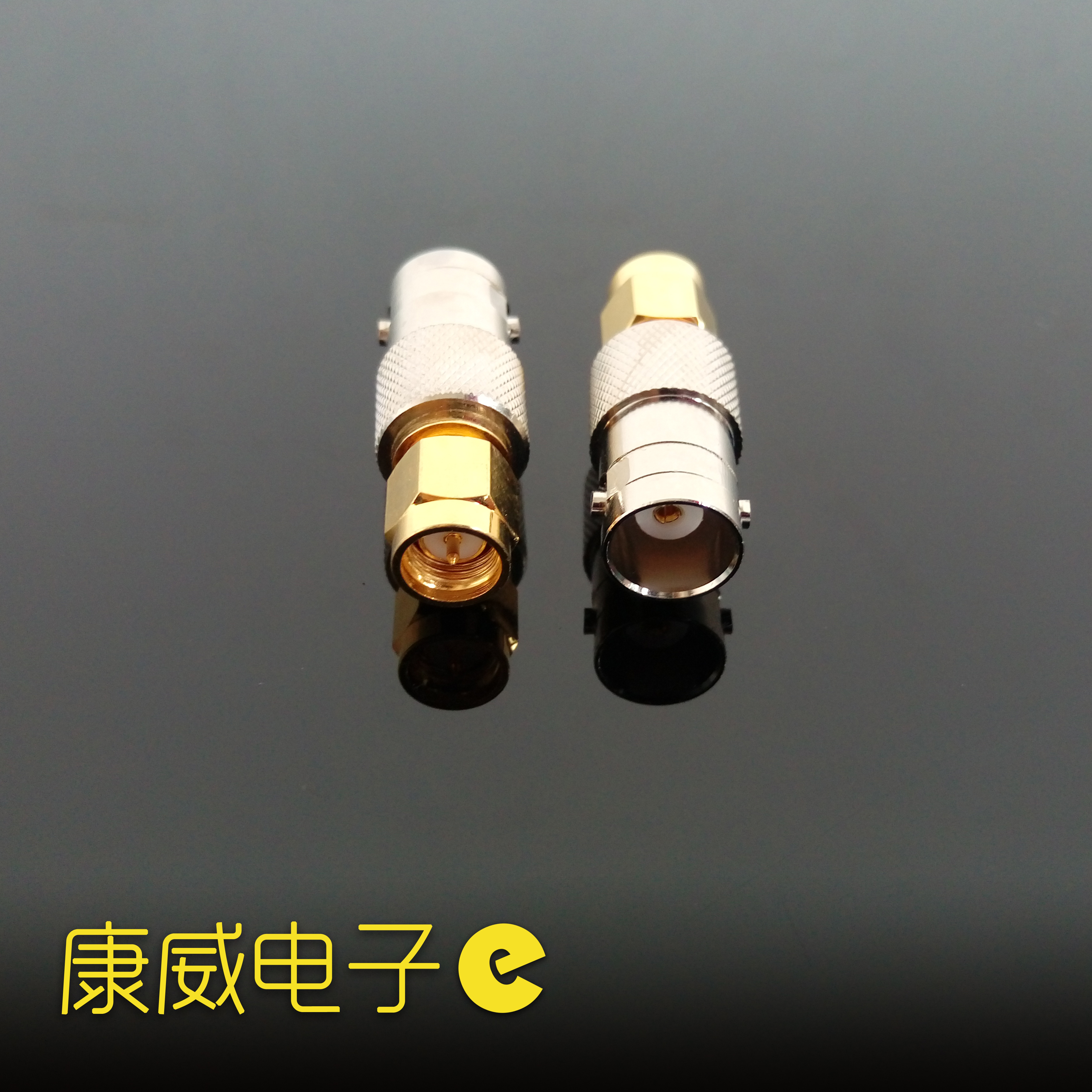 Coaxial Connector SMA Turn BNC SMA (inner Screw Inner Pin) to BNC Mother SMA-J/BNC-K Adapter.