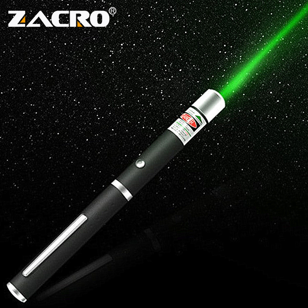 Zacro Laser Pointer 5MW High Power Green Blue Red Dot Laser Pen Powerful Laser Sight 530Nm 405Nm 650Nm Green Lazer Pointer 5mw red green laser pointer laser pen presenter present pen with star cap